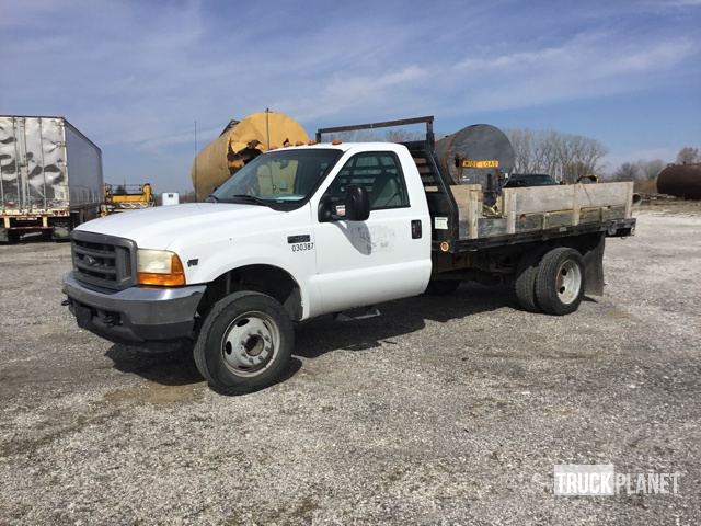 2001 Ford F 450 Xl Super Duty S A Flatbed Truck In Lincoln