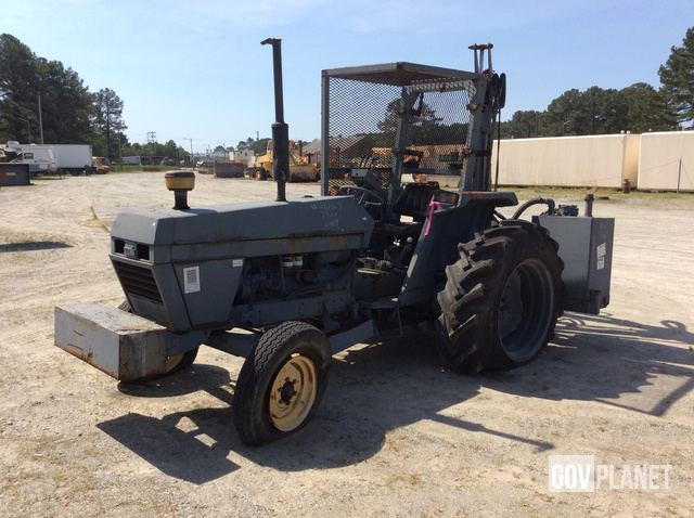 Surplus Case M1394 2WD Tractor w/ Flail Mower in Portsmouth