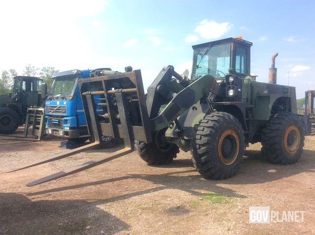 International Hough M10A Rough Terrain Forklift in U S Army