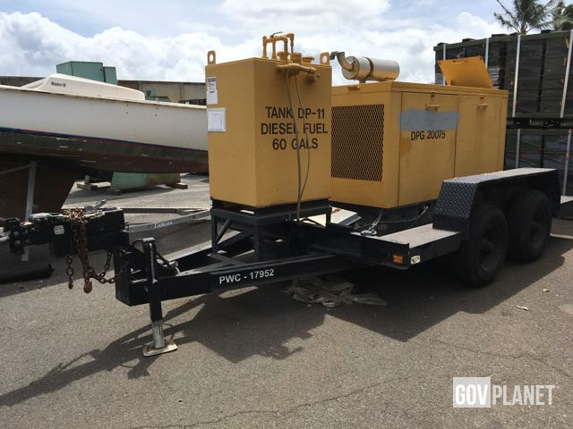 Surplus Onan 75kW Gen Set in Pearl Harbor, Hawaii, United