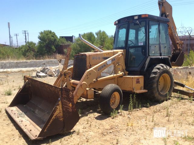 Surplus John Deere 310D Backhoe Loader In San Diego