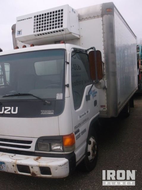2003 isuzu npr refrigerated truck in blaine minnesota united rh ironplanet com