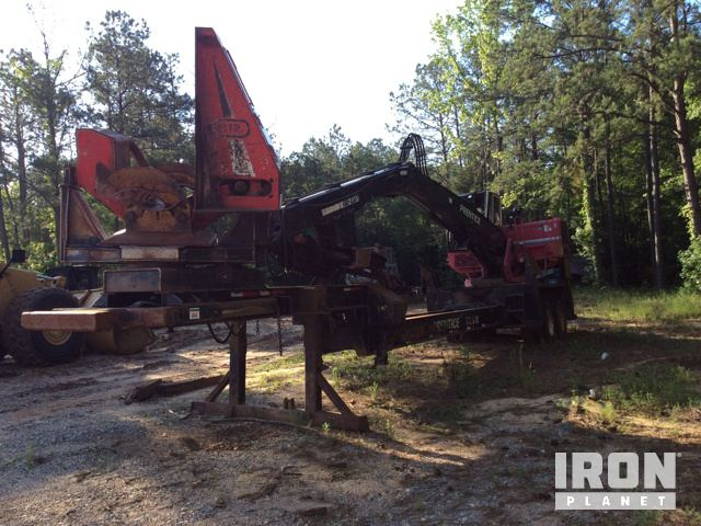 2012 Prentice 2384B-TMS CMNS Trailer Mounted Log Loader w