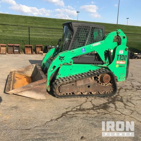 2012 Bobcat T190 Compact Track Loader in Ontario, Ohio