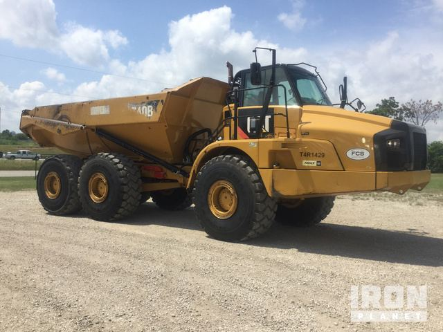 2013 Cat 740B Articulated Dump Truck in Lake Worth, Texas