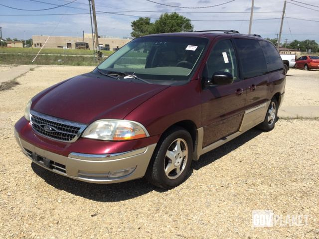 2000 Ford Windstar Sel Minivan