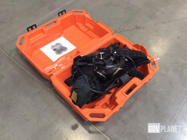 Surplus Lot of (12) Drager Self Contained Breathing