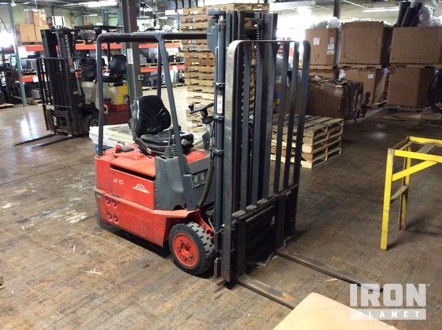 Beliebt Bevorzugt Linde E15-02 Electric Forklift in Oshkosh, Wisconsin, United @GX_95