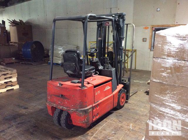 Lieblings Linde E15-02 Electric Forklift in Oshkosh, Wisconsin, United &IQ_72