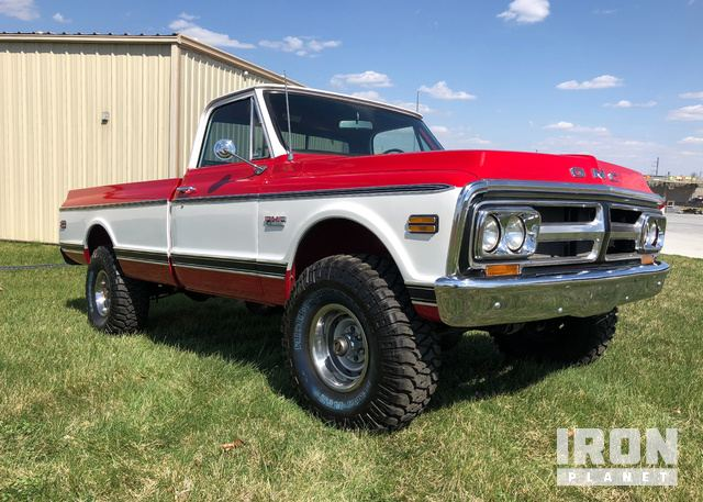 1971 GMC 1500 4 x 4 Pickup in Tulsa, Oklahoma, United States