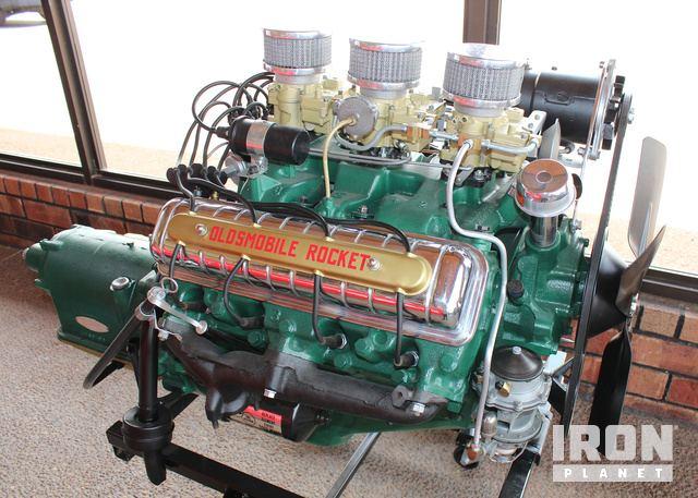 1957 Oldsmobile Rocket J-2 Engine and Automatic Transmission