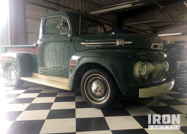 1952 Ford F1 Pickup In Broken Arrow Oklahoma United States Rhironpla: 1952 Ford F1 Radio At Gmaili.net
