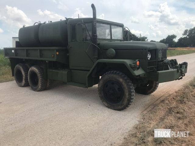 Surplus 1967 Kaiser Jeep M35a2 2 12 Ton 6x6 Cargo Truck In Bryan