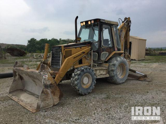 Cat 416B 4x4 Backhoe Loader In Bloomington Indiana United