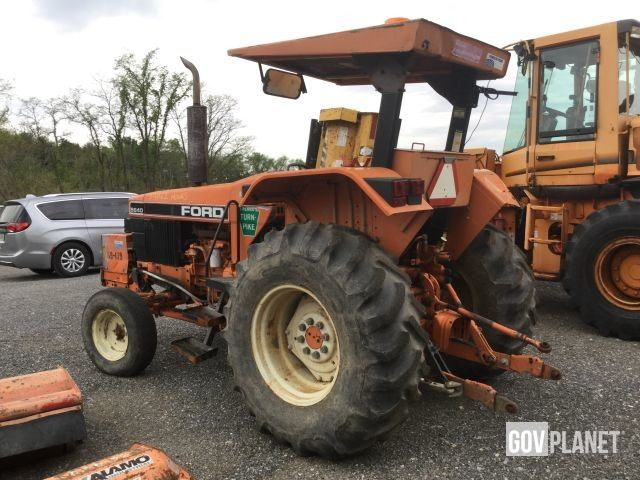 1993 Ford 5640 Tractor w/Side Flail Mower Attachment - 69