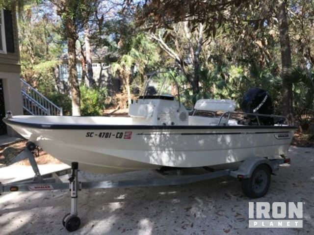 2008 Boston Whaler 150 Montauk Center Console in Johns