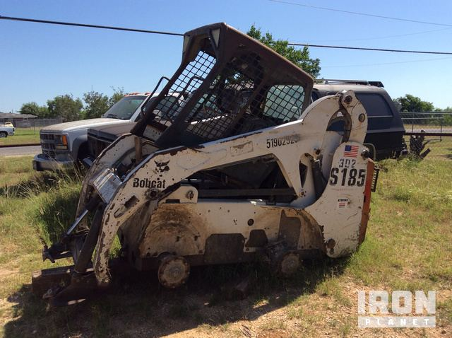 2002 Bobcat S185 Skid-Steer Loader in Adkins, Texas, United