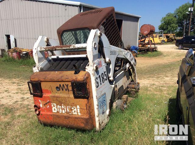 2002 Bobcat S185 Skid-Steer Loader in Adkins, Texas, United