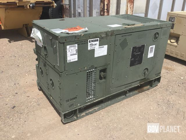 Surplus 1995 Libby MEP-803A 10kW Gen Set in Yermo, California