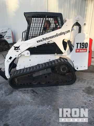 2011 Bobcat T190 Compact Track Loader in Port Saint Lucie, Florida