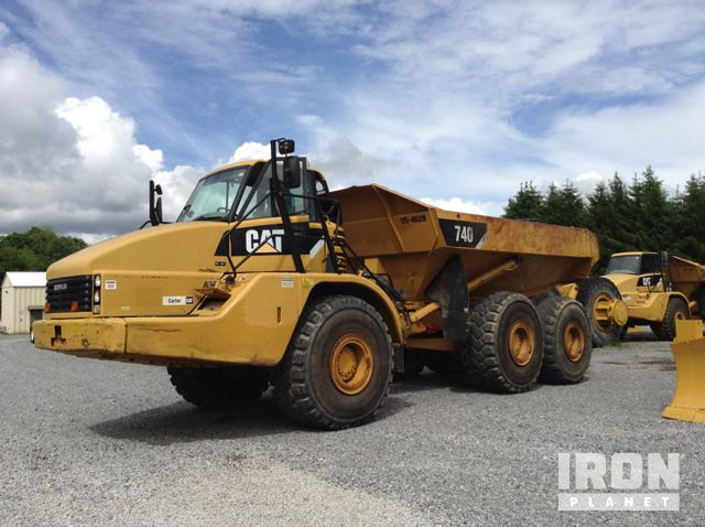 2008 Cat 740 Articulated Dump Truck in Beckley, West