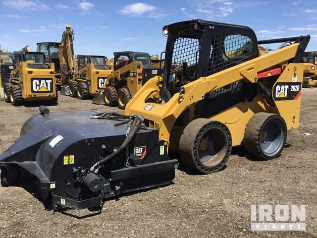2014 Cat 262D Skid-Steer Loader in Eloy, Arizona, United
