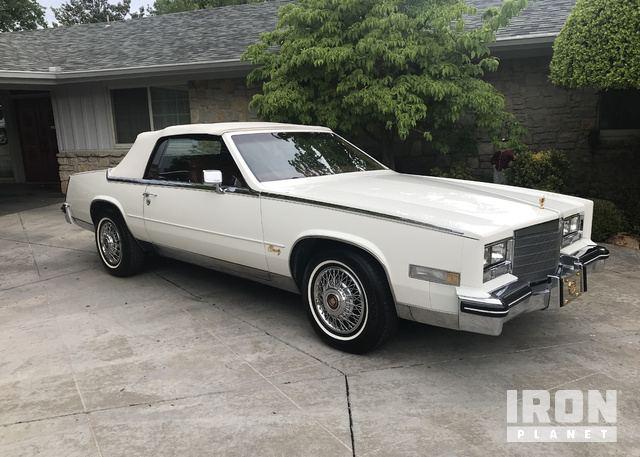 1984 Cadillac Eldorado Biarritz Convertible In Tulsa Oklahoma