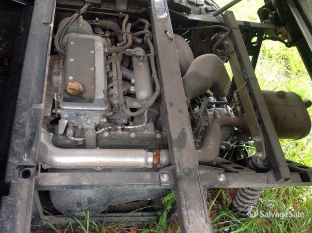 2016 (unverified) Kawasaki Mule PRO-FXT 4x4 Utility Vehicle