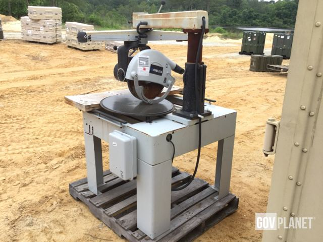 Surplus Delta 52-702 Radial Arm Saw in Fayetteville, North