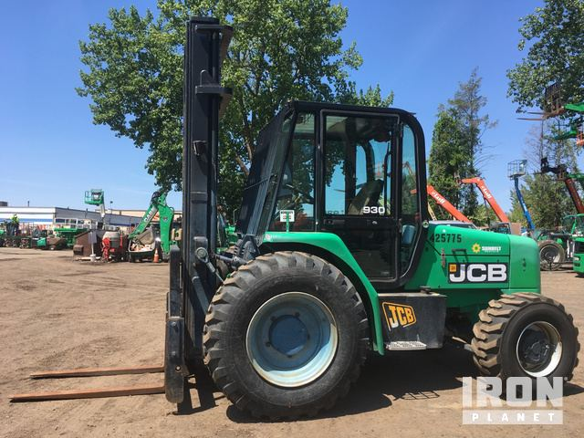 2012 JCB 930 Rough Terrain Forklift In Hartford Connecticut