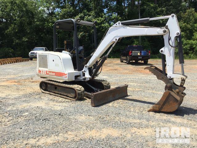 Bobcat 331 Mini Excavator in Elkin, North Carolina, United