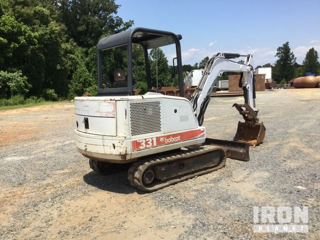 Bobcat 331 Mini Excavator in Elkin, North Carolina, United