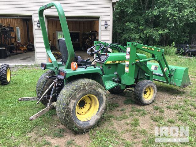 John Deere 855 4WD Utility Tractor in Fombell, Pennsylvania