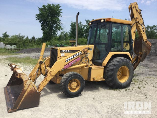 John Deere 310D Backhoe Loader In Gibsonburg Ohio United