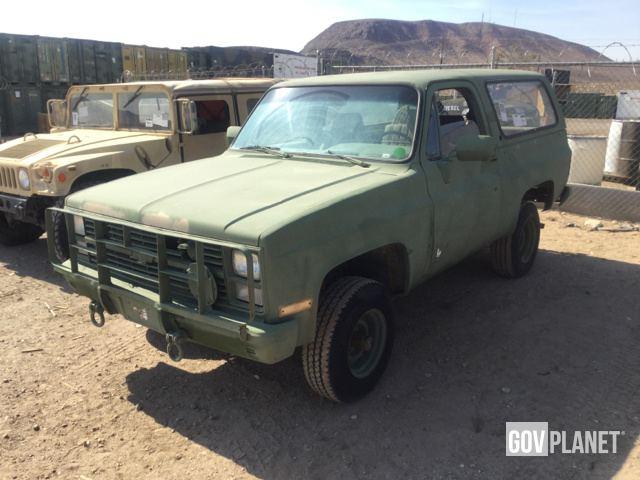01d0311840 Surplus 1984 Chevrolet D10 Blazer 4x4 in Yermo