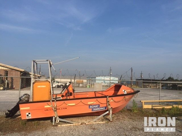 Umoe Schat-Harding MOB-17 Rescue Boat in Harvey, Louisiana, United