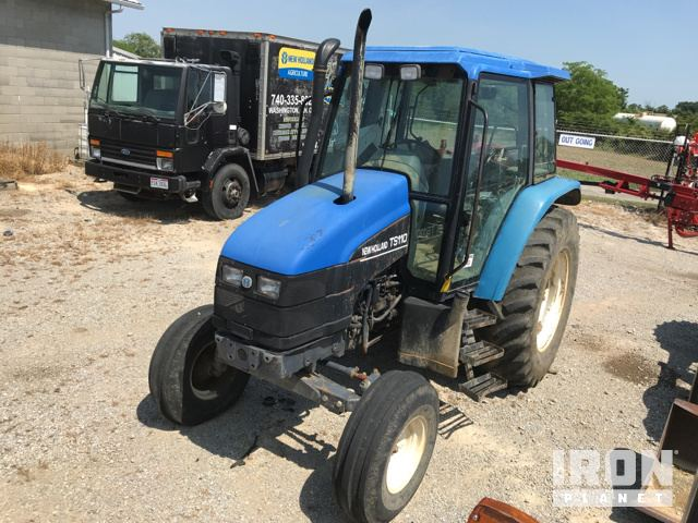 New Holland TS110 4WD Tractor in Seaman, Ohio, United States