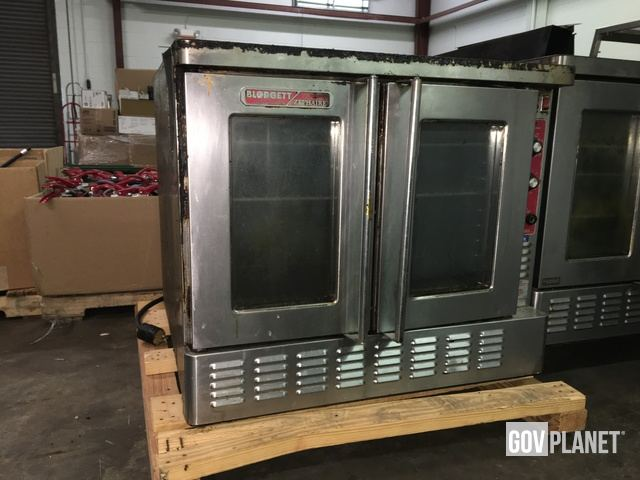 blodgett oven serial number location