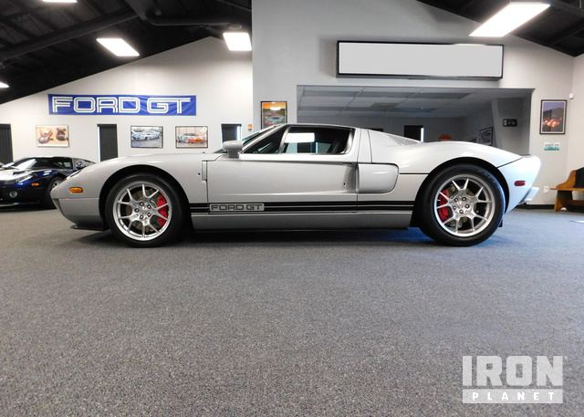 Ford Gt Factory Stripe Delete Coupe