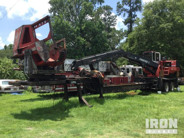Prentice 2384 Trailer Mounted Log Loader in Hanahan, South