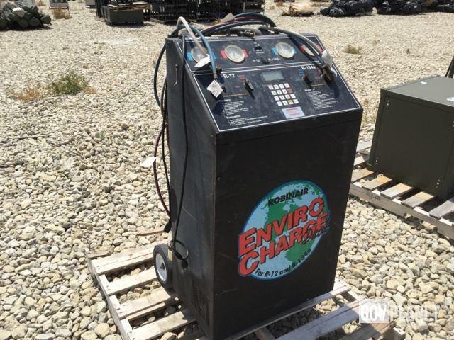 surplus robinair 34800 enviro charge dual refrigerant recovery