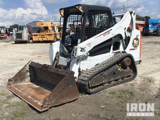 2013 Bobcat T590 Compact Track Loader in Tampa, Florida, United