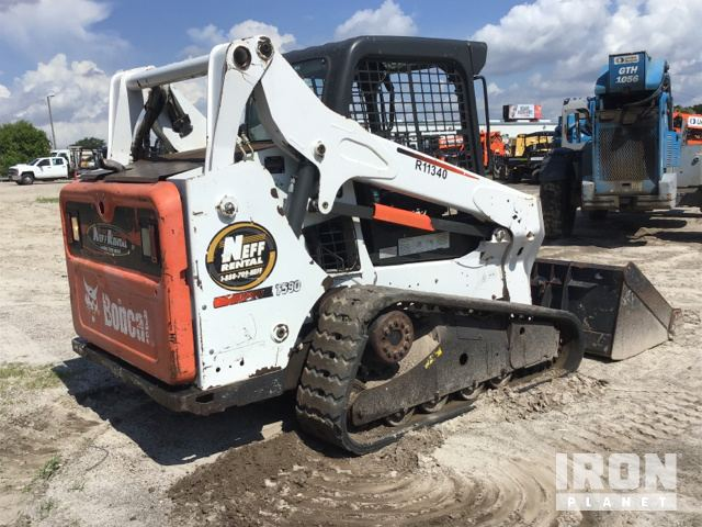 2013 Bobcat T590 Compact Track Loader in Tampa, Florida