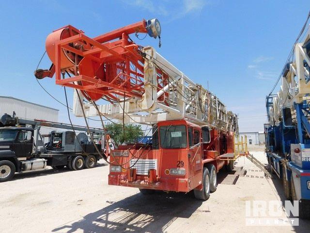 6d148da785 FRANKS 1287 160 Back-In D D Well Service Rig w D… in Odessa