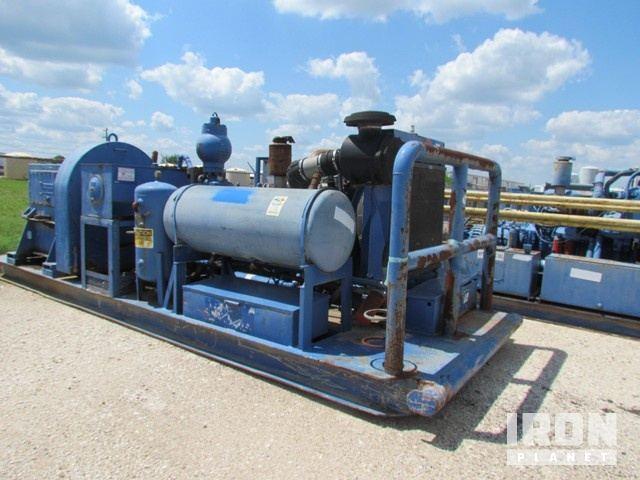 NATIONAL JWS-400 Triplex Pump w/Forged Steel Flu… in
