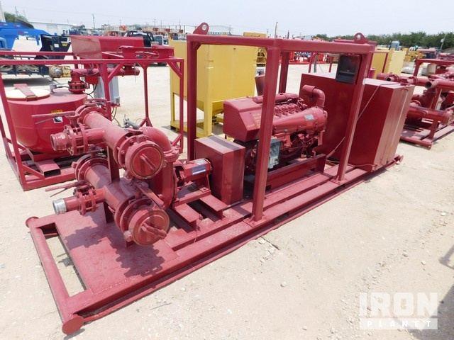 MUD HOG 8 x 6 x 14 Cent Pump p/b DEUTZ BF6L914C … in Odessa