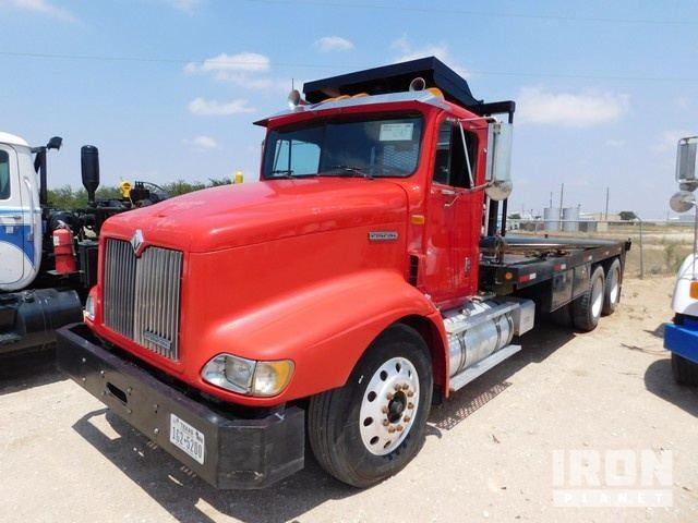 1999 INTERNATIONAL 9200 6x4 Pole Truck, VIN-2HSF… in Odessa