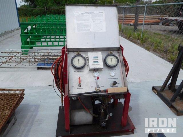MI SWACO Super Choke Hydro Test Unit w/(4) Test … in Corpus Christi