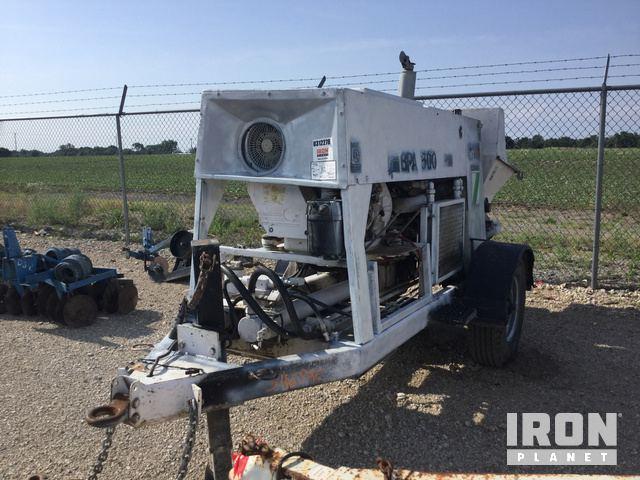 Schwing BPA500 Trailer Mounted Concrete Pump in Odessa, Missouri