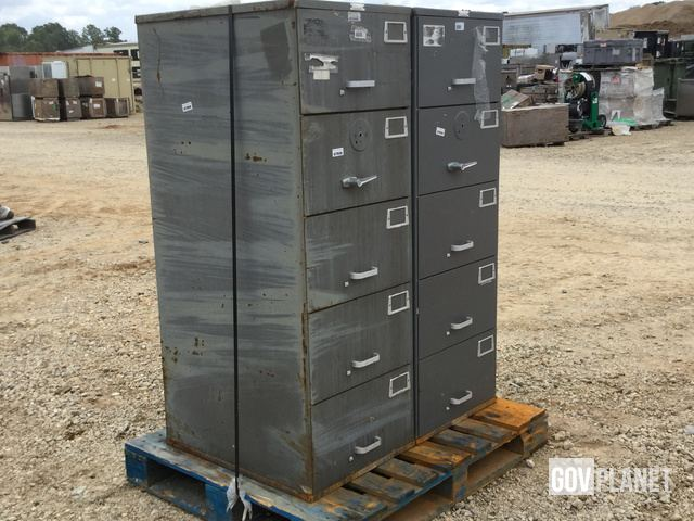 Lot Of (2) Filing Cabinets